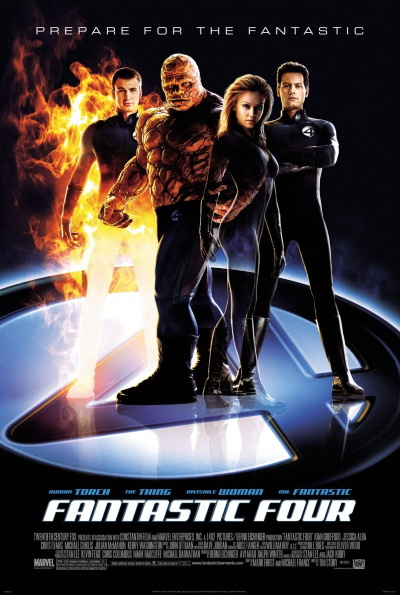 Fantastic Four (2005) (Rating: Good)