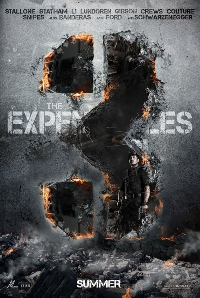 The Expendables 3 (Rating: Okay)
